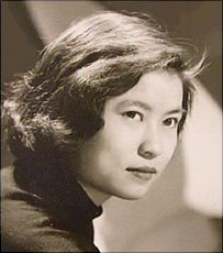 Dr. Woo as a young woman